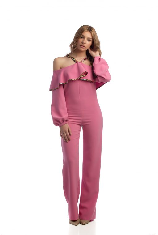 Mono largo rosa