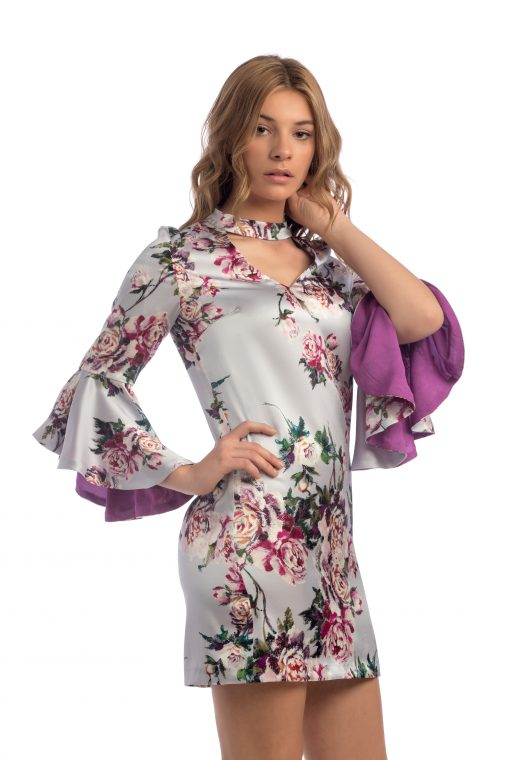 Vestido floral sensse boutique