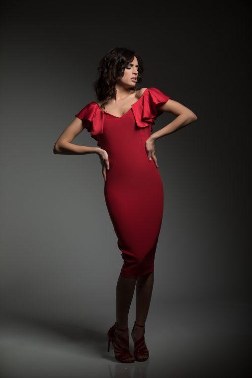 Vestidos de fiesta rojo boutique almeria